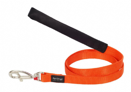 Red Dingo Dog Lead Classic Orange